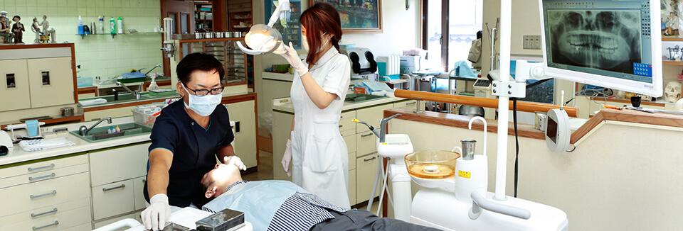 むし歯・歯周病・予防治療